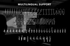Web Font Copyright - Monoline Signature Font Product Image 5