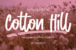 Cotton Hill Product Image 1