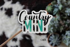 Country Mini PNG File / Sublimation Clipart File Product Image 3