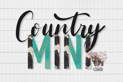 Country Mini PNG File / Sublimation Clipart File Product Image 1