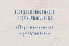 Straight Brushpen Handwritten Font. English Russian Alphabet Product Image 2