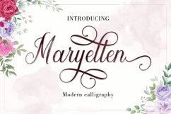 Maryellen Script   WEBFONT Product Image 1