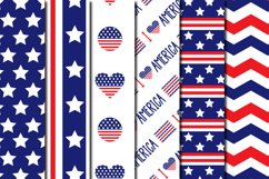 Set Of USA Independence Day Pattern Product Image 3