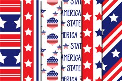 Set Of USA Independence Day Pattern Product Image 2