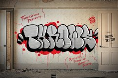 Graffiti fonts   Throws Product Image 1