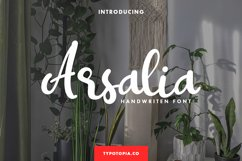 Arsalia Handwritten Font Product Image 1
