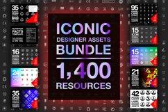 Iconic Designer Assets Bundle 1400 Resources Product Image 1