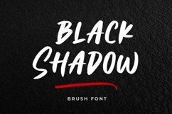 Black Shadow - Brush Font Product Image 1