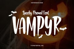 Vampyr Spooky Themed Font Product Image 1
