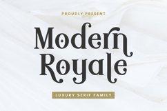 Modern Royale - Serif Typeface Product Image 1