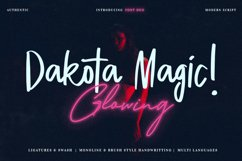 Dakota Magic Glowing Product Image 1