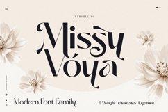 Missy Voya - Modern font family Product Image 1