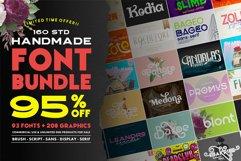 160 Studio Font Bundle | 95 OFF Product Image 1