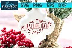 Hallelujah SVG Cut File | Christmas SVG Cut File Product Image 1