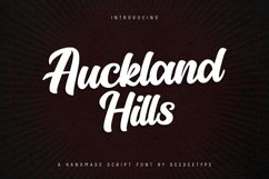 Auckland Hills Product Image 1