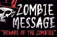 Zombie Message Product Image 1