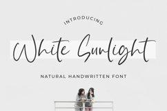 White Sunlight - Natural Brush Font Product Image 1