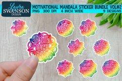 Motivational Mandala Sticker Bundle Vol#2 | Sticker Set Product Image 1