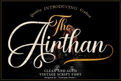 Airthan Script Product Image 1
