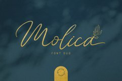 Molica - Font Duo Product Image 1