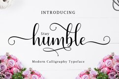 Humble Script   WEB FONT Product Image 1