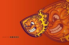 Mad Basketball On Fire SVG Illustrations Product Image 2