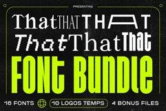 That That Font Bundle Product Image 1