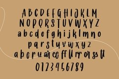 Web Font Cowardly - Handrawing Font Product Image 5