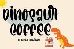 Dinosaur Coffee   An Informal Cute Handwritten Product Image 1