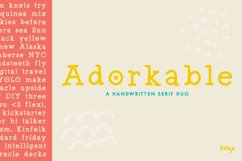 Adorkable - A Simply Adorkable Handwritten Font Product Image 1