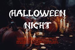 Creature - Horror Display Font Product Image 6