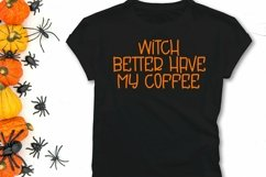 Web Font Creep It Real - A Handlettered Halloween Font Product Image 2