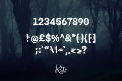 Creepy Morticia Web Font Product Image 2