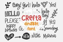 Crefta - a Dingbat font Product Image 1