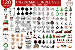 ULTIMATE Christmas and Fall, Autumn, thanksgiving bundle SVG Product Image 5
