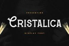 Web Font Cristalica Product Image 1