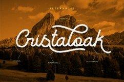 Cristaloak - Rough Script Font Product Image 6