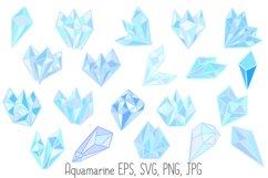 Pastel Quartz Healing Crystal Shapes SVG, EPS, PNG JPG Files Product Image 2