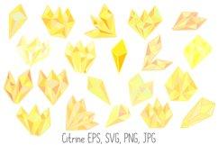 Pastel Quartz Healing Crystal Shapes SVG, EPS, PNG JPG Files Product Image 3