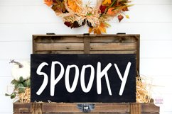 CREAKY STAIRS Scary Halloween Font Product Image 4