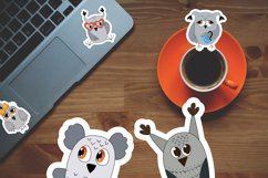 Cute owls printable cricut stickers. PNG, JPG, PDF. Product Image 2