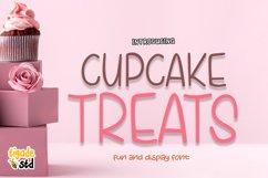 Cupcake Treats - Cute Display Font Product Image 1