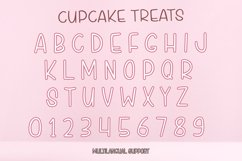 Cupcake Treats - Cute Display Font Product Image 4