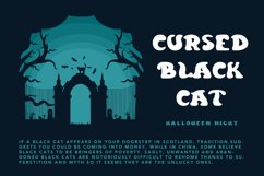 Curious Soul - Spooky Display Font Product Image 3
