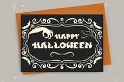 Curious Soul - Spooky Display Font Product Image 5