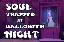 Curious Soul - Spooky Display Font Product Image 6