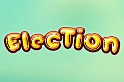 Cute Balloon| A Display Typeface Product Image 3