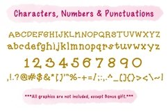 Cute Child Handwritten Font - Amish Product Image 2
