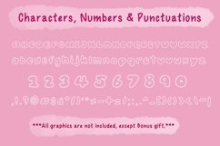 Cute Child Handwritten Font - Bubbable Product Image 3