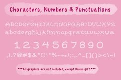 Cute Child Handwritten Font - Happy Product Image 3